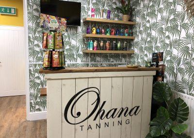 creams at Ohana tanning