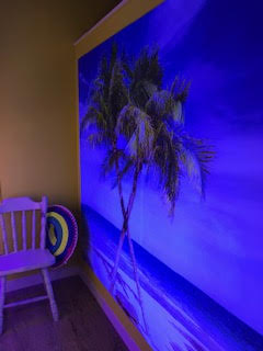 sunbed booth